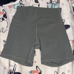 Lulu lemon biker shorts!